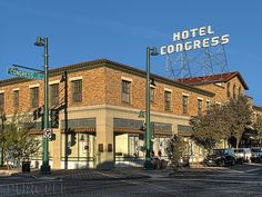 Photograph Hotel Congress by Jim Purcell on 500px