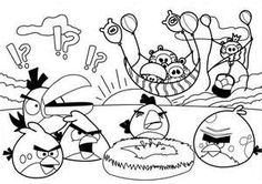 Angry Birds Colouring Pages1 Coloring Book Pages To Print For