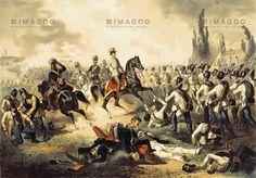 Kaiser Franz Joseph I. in der Schlacht bei Solferino, © IMAGNO/Austrian Archives