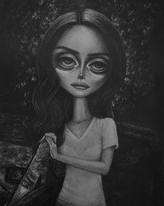 • Flipside • Lana Del Rey #LDR #art by Peter Curtis