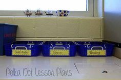 Polka Dot Lesson Plans: Tame the Paper Monster Part 2: The Inbox