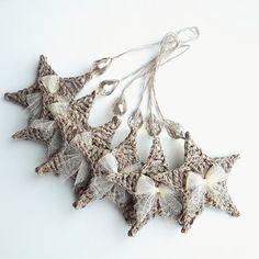 Crochet Christmas ornaments crochet Christmas от BertaCrochetDecor