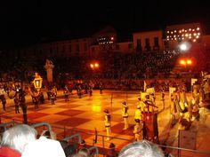 Partita a scacchi di Marostica (Vicenza) / The Chess Game in Marostica (Vicenza), vento region Italy