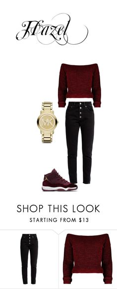 """Boss slay"" by hazel-green-1 ❤ liked on Polyvore featuring Balenciaga and Michael Kors"