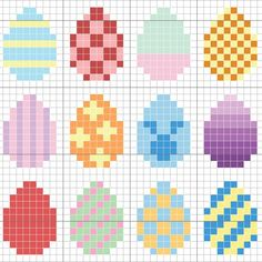 Free Easter Pattern - Stitch People - Get ready for Easter with this cute free . - Free Easter Pattern – Stitch People – Get ready for Easter with this cute free pattern from St - Tiny Cross Stitch, Cross Stitch Cards, Cross Stitch Designs, Cross Stitching, Cross Stitch Embroidery, Cross Stitch Patterns, Hand Embroidery, Hama Beads Design, Diy Perler Beads