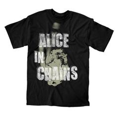Big Type Tour T-shirt -BandMerch Online Store Merchandising Companies, Tommy Boy, Alice In Chains, Band Shirts, Tour T Shirts, Tours, Type, Big, Mens Tops