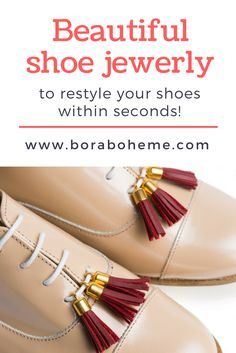 The emerging brand Tapi Tapi creates fringe tassels, pom poms, and bows clips to restyle your shoes within seconds. Only Fashion, Womens Fashion, Ethical Fashion, Outfit Posts, Beautiful Shoes, Your Shoes, Bag Accessories, Jewerly, Tassels