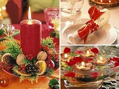 decoracao mesa de natal 7 Decoração mesa de natal, como montar uma mesa
