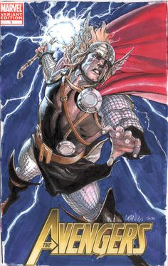 Thor cover commish by ~leinilyu on deviantART