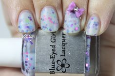 Manicure Monday: Blue-Eyed Girl Lacquer's Floppy. Hoppy. BUNNIES!