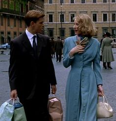 Fashion in movies: Cate Blanchett as   Meredith Logue in The Talented Mr. Ripley (1999)