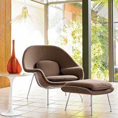 Womb Chair. Designed by Eero Saarinen, 1946.