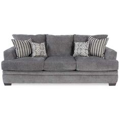 Cornell Pewter Sofa | B2-3653 | 3653 CORNELL PEWTER | American Furniture - American Furniture Warehouse