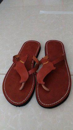 012557d7ed4c93 Pembroke Welsh Corgi sandals flip flops shoes handmade leather   flipflopsshoes. Women Shoes Sneakers