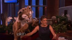 When Kate Walsh damn near had a heart attack. | 26 Times Ellen DeGeneres Scared The Crap Out Of Famous People