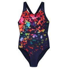 Speedo | Speedo Star Swimsuit Junior Girls | Girls Swimwear