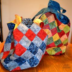 Making of a Mondo Bag | Joni Quilts - download pdf of mondo bag instructions off of internet