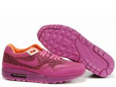 Womens Nike Air Max 1 Red Plum Red Plum White Shoes $49.98