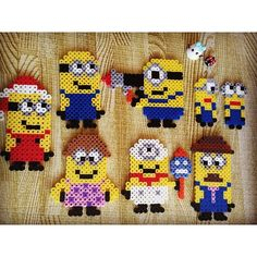 Minions perler beads by  sayopitto