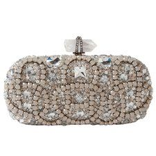 Marchesa Opal Embroidered Clutch