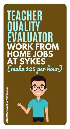 Have time on your hands for a part-time job? Looking to work on your own schedule in a faced paced environment? In addition, do you want to work online? Sykes is looking for teachers with teachers certification for a remote Teacher Quality Evaluator role. Learn more! #hiring #teacher #jobs