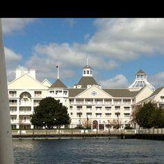 Disney yacht club...We were upgraded to this resort when a lower level was overbooked. NICE!