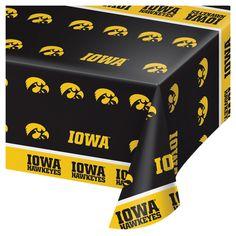 University of Iowa Paper Plates 24 ct