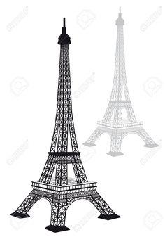 19431418-Silueta-de-Torre-Eiffel-un-dibujo-detallado-ilustraci-n-vectorial-Foto-de-archivo.jpg (909×1300)