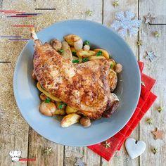 Cuisse de dinde Pomme de terre Marron – Mimi Cuisine Cuisse+de+dinde+Pomme+de+terre+Marron Turkey, Meat, Desserts, Food, Articles, Sport, Simple, Kitchens, Onion