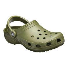 5e0f522da145a Crocs Classic - Army Green Clogs