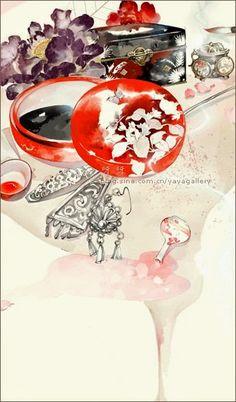 Tỉnh vật vẽ | Nhà tranh của Hoa Ban (kho ảnh dùng cho hoạt động viết, edit, dịch ngôn tình ^^) Ancient China, Ancient Art, Chinese Painting, Chinese Art, Chinese Dragon, Chinese Style, Korean Art, Asian Art, Heaven Art