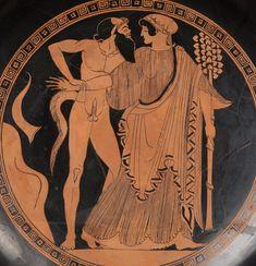 Ancient Greek Art, Ancient Greece, Greek Mythological Creatures, Harvard Art Museum, Greek Pottery, Greek And Roman Mythology, Art Antique, Roman Art, Rome
