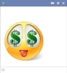 Money smiley