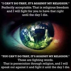 If you want to belief in whatever, I will fight for that right. Just do not impose, because then we WILL have a problem. because I care. I Will Fight, Fight For You, Neymar, We Are The World, Persecution, Faith In Humanity, Before Us, Social Issues, Equality
