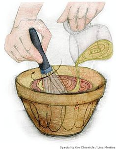 10 Techniques Every Cook Should Know ~ Breading, browning and searing, dicing an onion, folding, making a pan sauce, rolling out a pie crust, making a roux, segmenting citrus, tempering, making a vinaigrette. #Cooking_Techniques