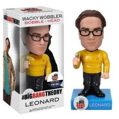 leonard star trek cabezon 18 cm wacky wobbler #TheBigBangTheory #TBBT #Funko