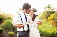 Thank You Wedding Photos