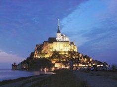 Mont St. Michael, France.