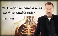 Photo by Lawlietblack Frases Dr, Doctor House, Gregory House, Everybody Lies, Hugh Laurie, House Md, Lettering, Humor, Motivation