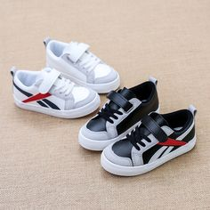 29.25$  Watch more here - http://aii01.worlditems.win/all/product.php?id=32799284303 - 2017 children's canvas shoes High School boys girls sports shoes children Sneakers white Leather shoes flats kids Child loafers