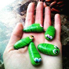 Caterpillars? Cute