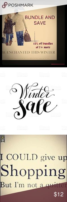 🛍🎁🛍 Every pretty girl should SHOP 🎁🛍  🎁 💞🎁🛍15% OFF BUNDLES 🛍🎁💞 Please bundle and use the offer button! Tag me if you need help! Other