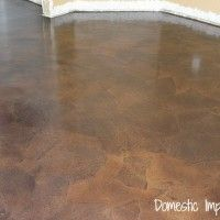 Paper Bag Floor Basement Flooring, Diy Flooring, Flooring Ideas, Slate Flooring, Flooring Options, Laminate Flooring, Kitchen Flooring, Penny Flooring, Farmhouse Flooring