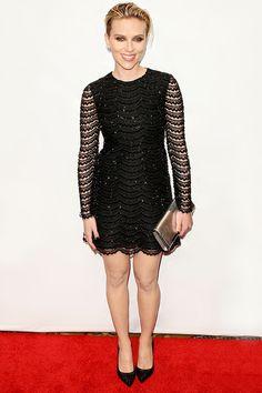 Scarlett Johansson en Saint Laurent par Hedi Slimane http://www.vogue.fr/mode/look-du-jour/articles/scarlett-johansson-en-saint-laurent-par-hedi-slimane-1/24554