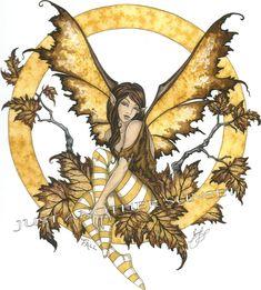 Fairy Art Artist Amy Brown: The Official Online Gallery. Fantasy Art, Faery Art, Dragons, and Magical Things Await. Beautiful Fantasy Art, Beautiful Fairies, Fairy Original, Original Art, Elfen Fantasy, Dragons, Amy Brown Fairies, Fairy Drawings, Autumn Fairy