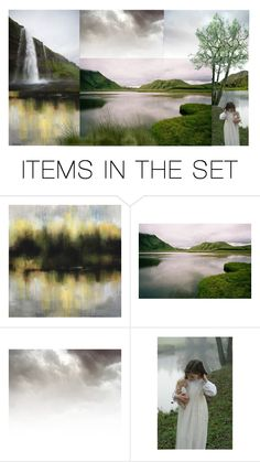 """Landscape"" by ladomna ❤ liked on Polyvore featuring art"