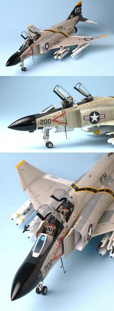 F-4 J fighter warplane(American)this plane is fly with the aircraft carrier!very cool