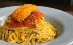 Sea Urchin Pasta with Uni Miso Butter | eatfish.ca  | #HealthyEating #CleanEating #Seafood Sherman Financial Group