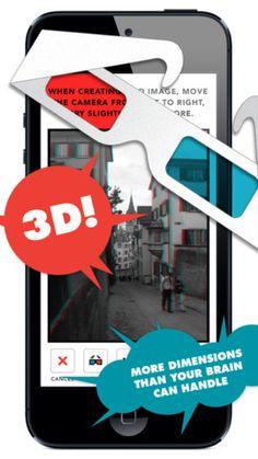 Jittergram 3D 이미지 겹친 사진