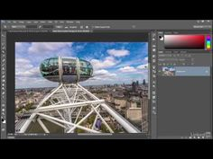 Adobe Photoshop CC 2015 Tutorial | 039 Straightening a crooked image
